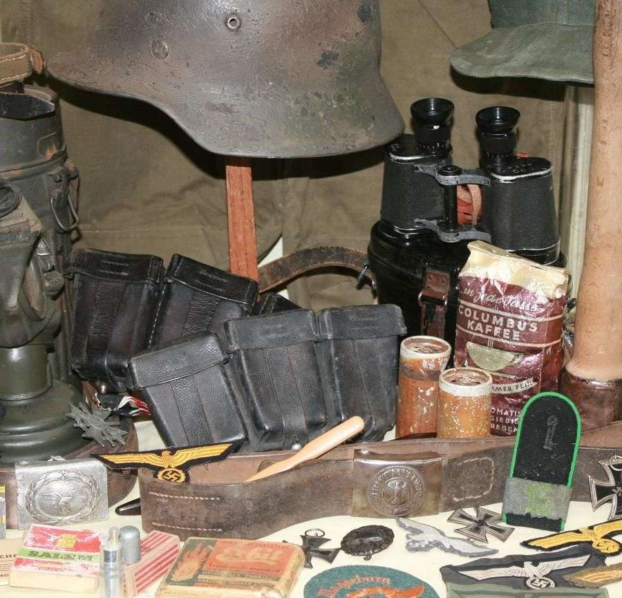 WWII GERMAN , ITALIAN & JAPANESE ITEMS