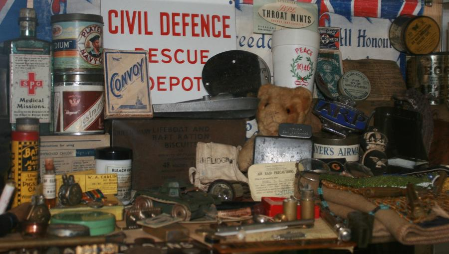 WWII HOME FRONT ITEMS