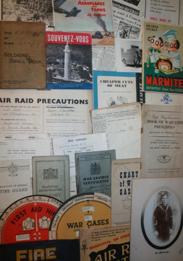 EPHEMERA FROM BOTH WORLD WARS