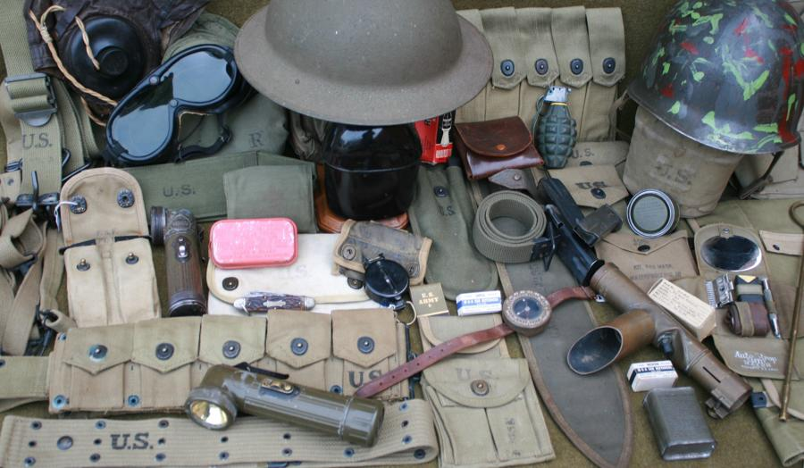 WWII US KIT & EQUIPMENT