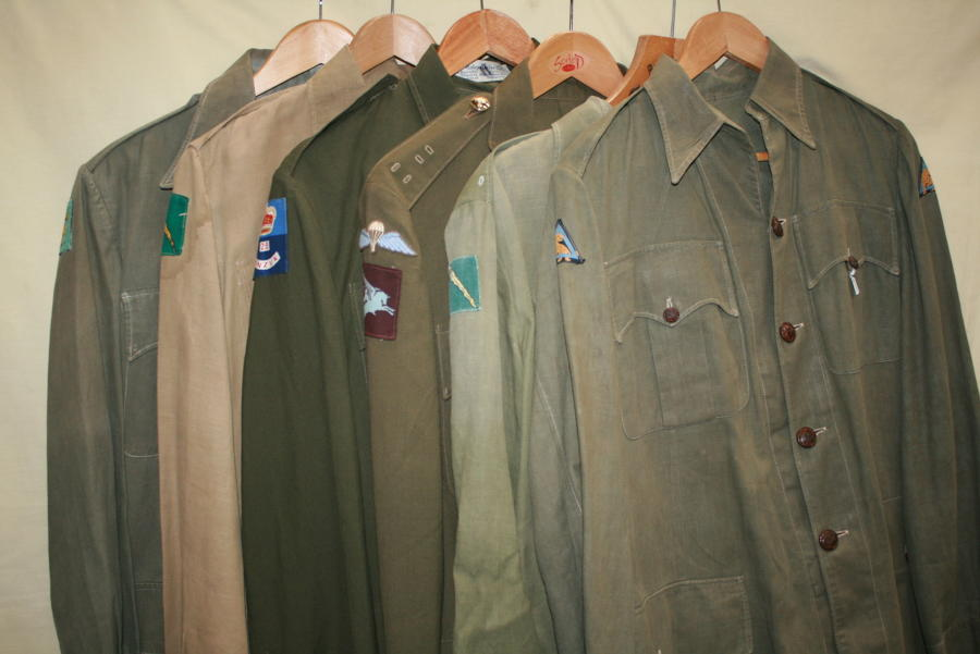 WWII KD UNIFORM ITEMS