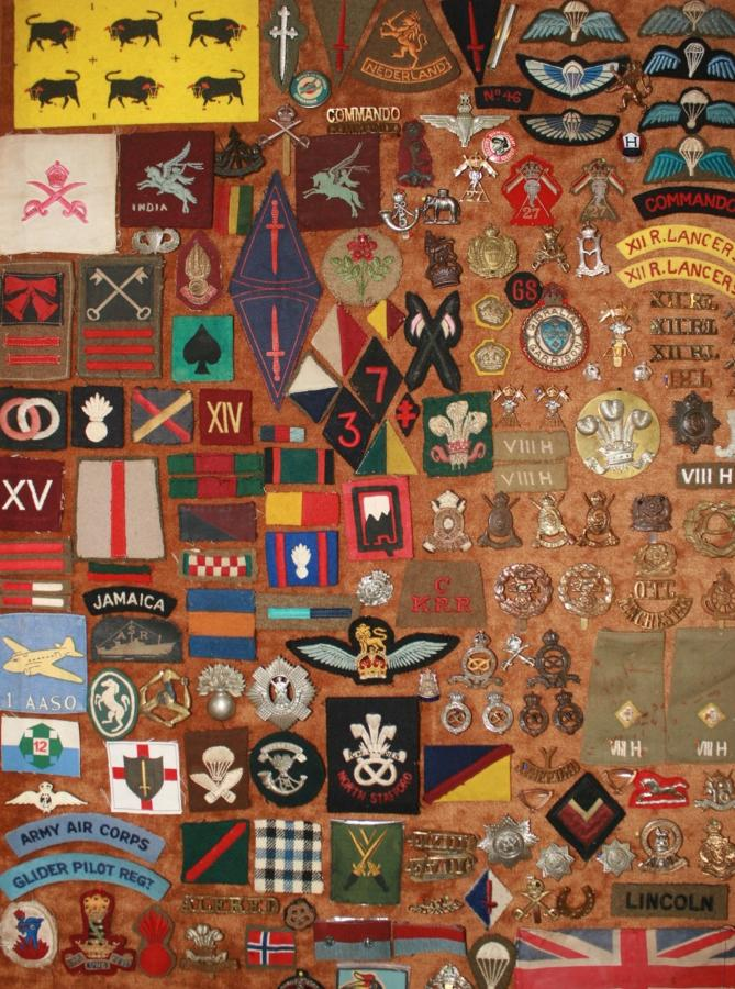 BRITTONS BADGES SELECTION