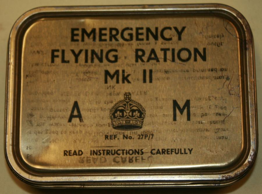 A WWII RAF EMERGENCY MKII RATION TIN