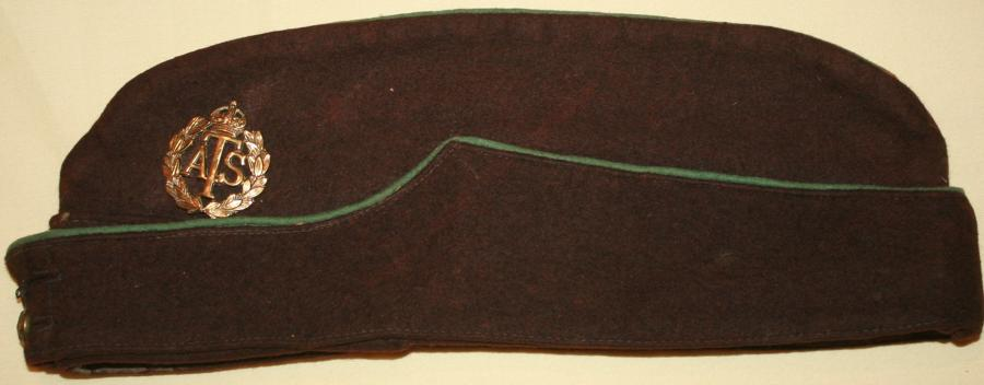 A WWII ATS OTHER RANKS SIDE HAT