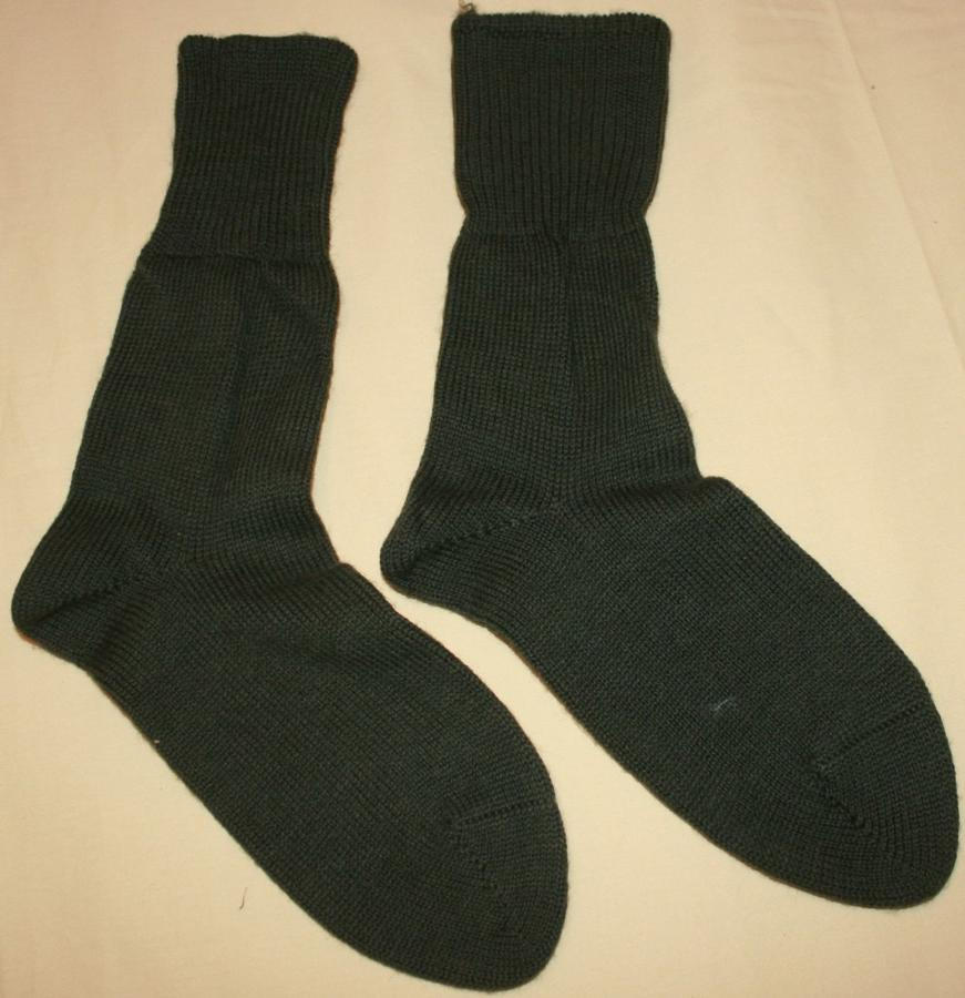 A MATCHING PAIR OF THE 1945 DATED JUNGLE SOCKS
