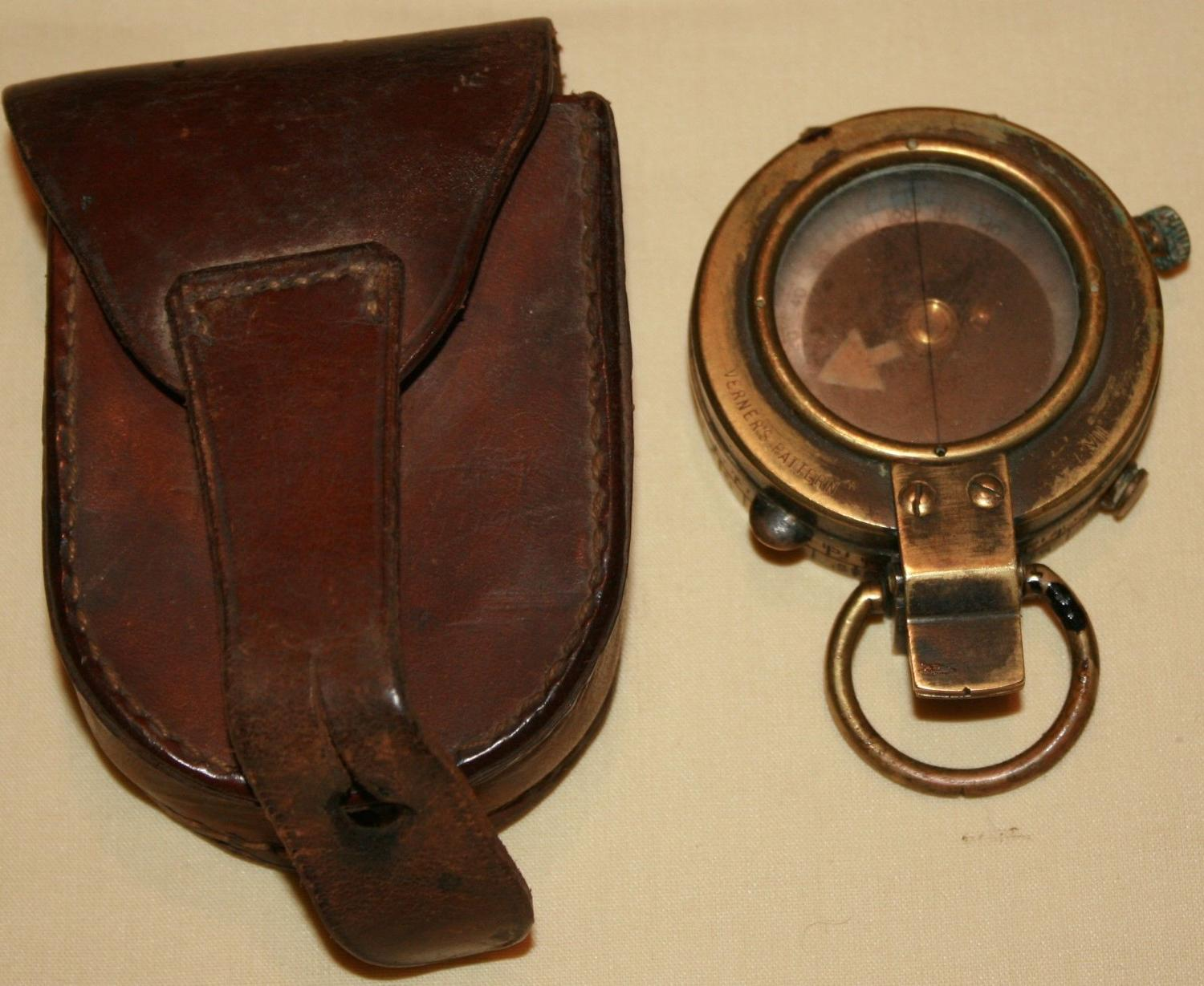 A BRITISH WWI 1917 DATED COMPASS