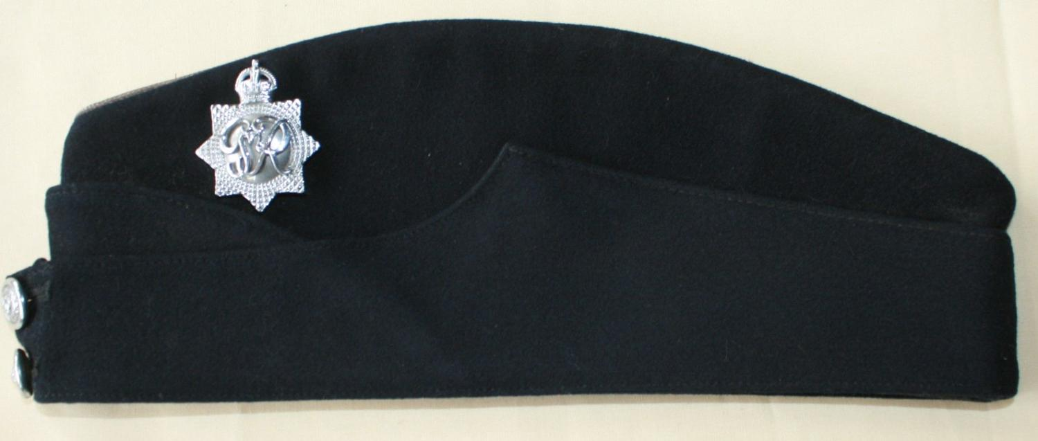 A RARE EXAMPLE OF THE CONTROL COMMISSION GERMANY POLICE SIDE HAT