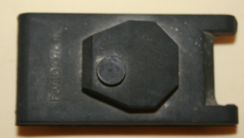 A RUBBER WWII TRAINING MODEL TANK