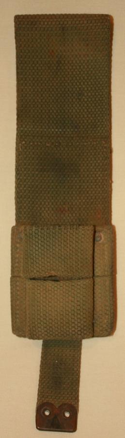 A WWI 08 pattern bayonet frog
