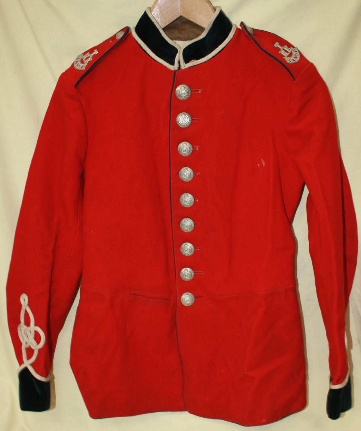 A 1908-1910 TERITORIAL WESSEX ROYAL ENGINEERS   TUNIC