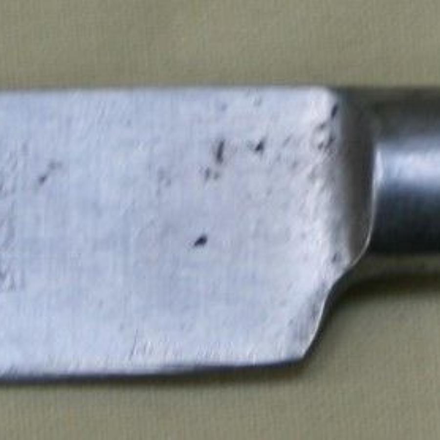 A SCARCE 1940 DATED EATING KNIFE