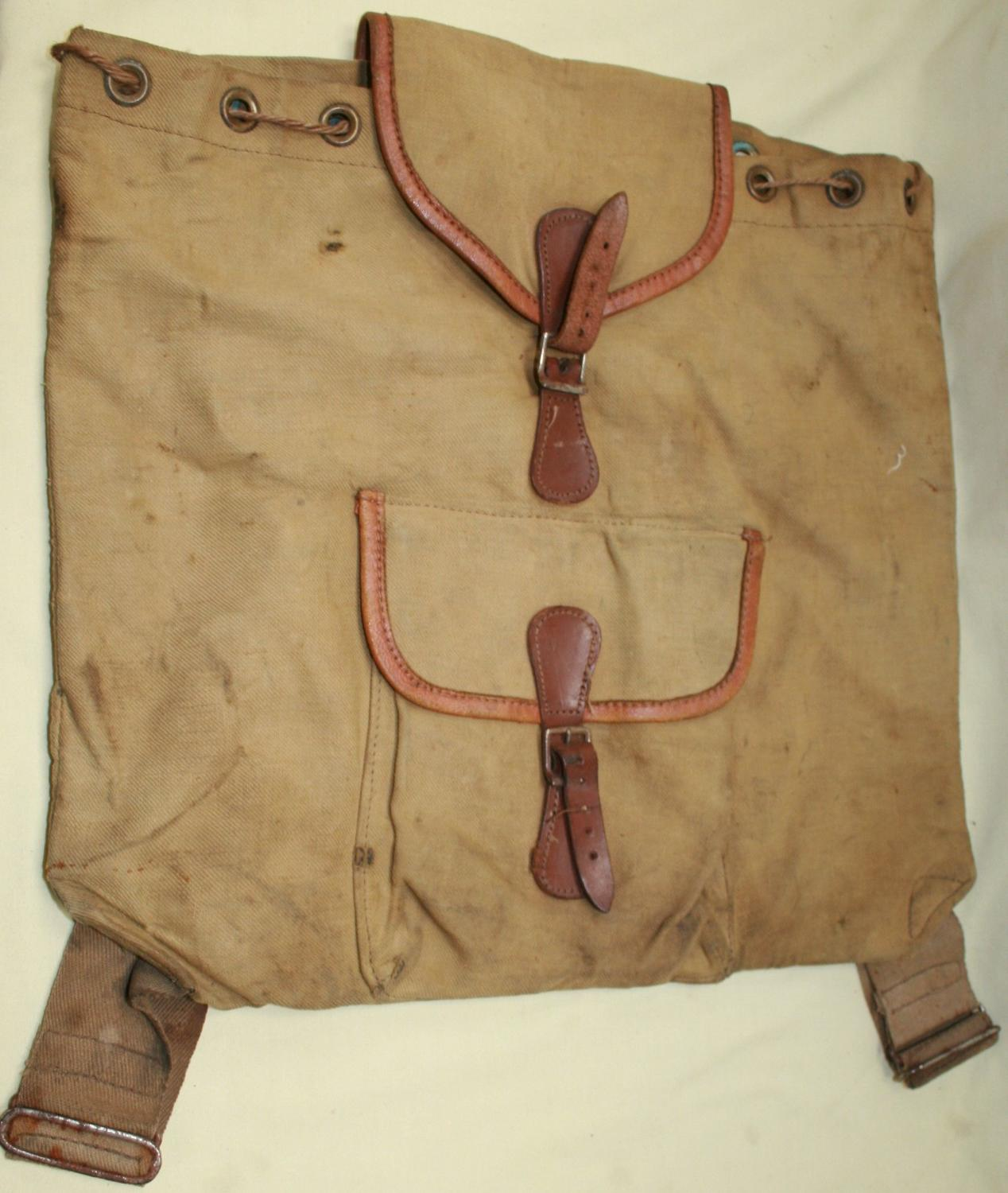 A WWII ATS RUCK SACK