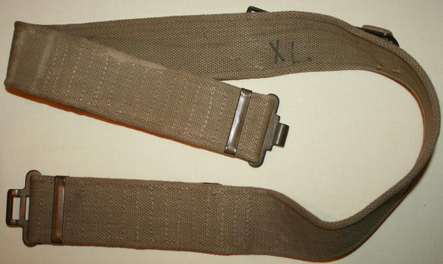 A VERY GOOD MINT 37 PATTERN WEBBING BELT GOOD SIZE 52 WAIST
