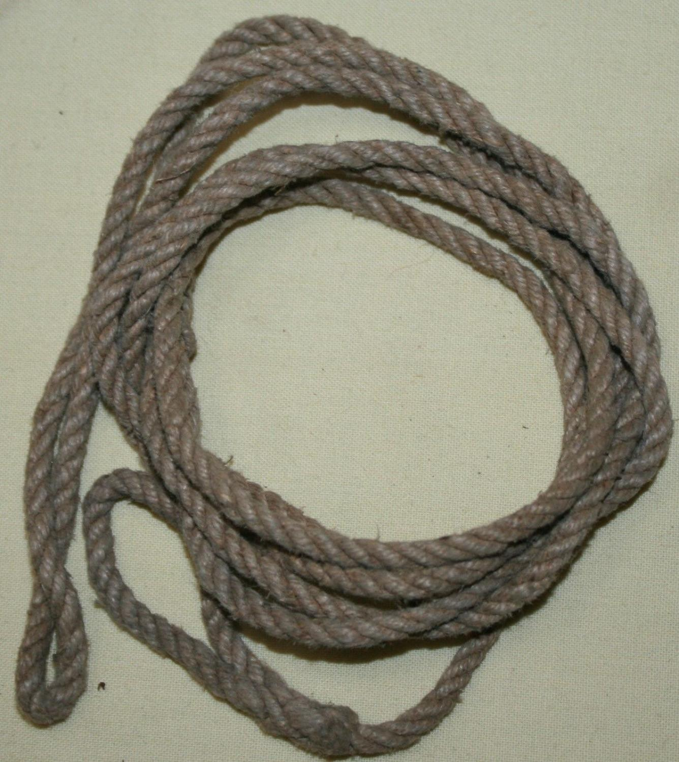 A WWII OTHER RANKS EXAMPLE OF THE PISTOL LANYARD