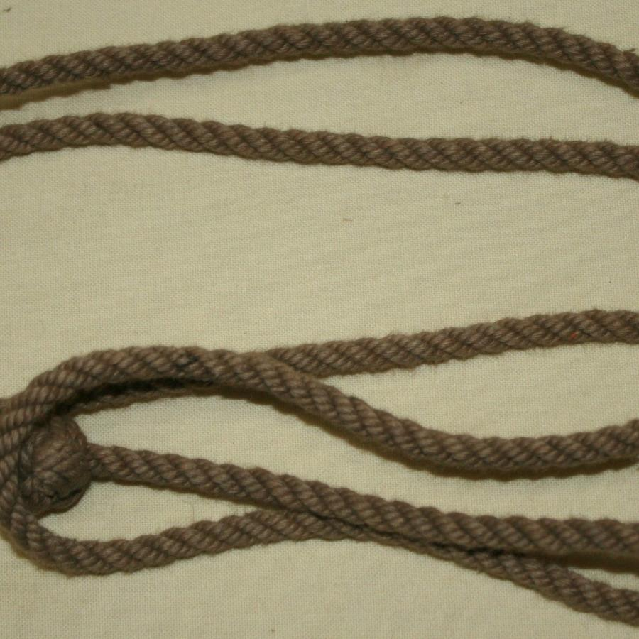 A WWII OTHER RANKS CLASP KNIFE LANYARD