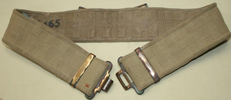 A GOOD WELL BLANCOED 37 PATTERN WEBBING BELT
