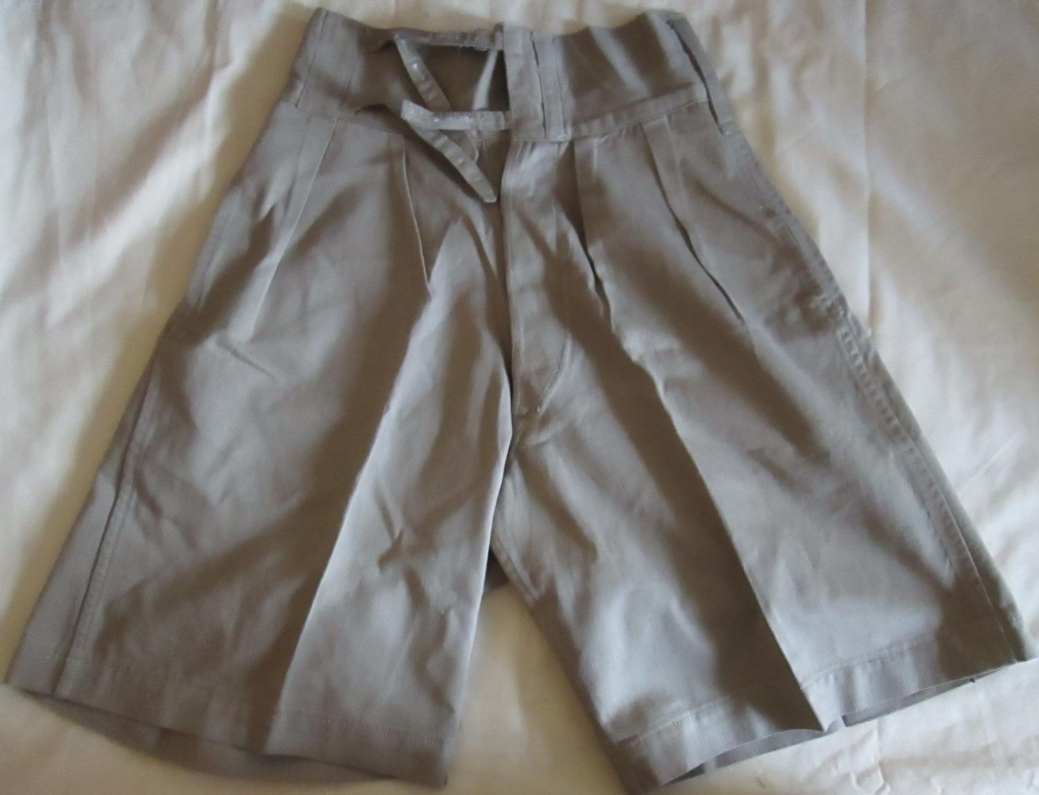 A PAIR OF 1941 DATED KD SHORTS
