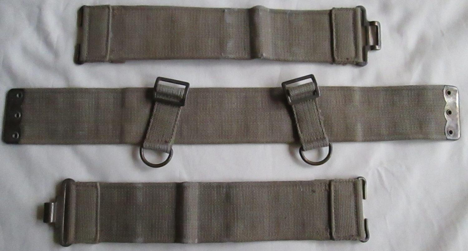 ARMY OFFICERS PRIVATE PURCHASE WEBBING EQUIPMENT SET PART 1