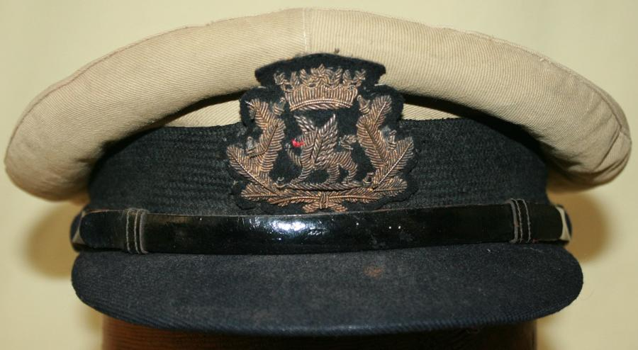 A BOAC WWII PERIOD OFFICERS CAP