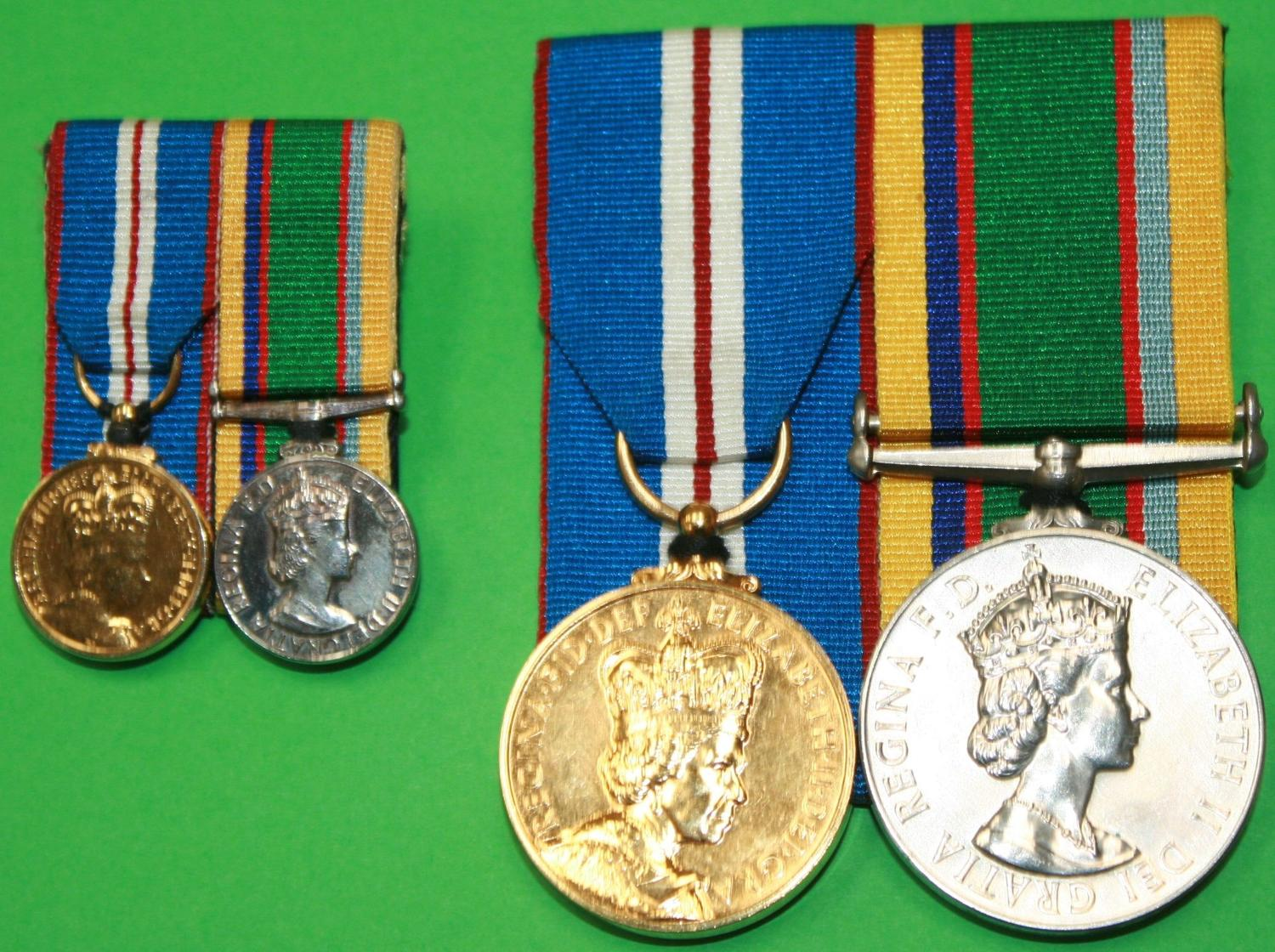 A CADETS LONG SERVICE GOOD CONDUCT MEDAL & 2002 JUBILEE MEDAL