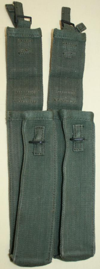 A PAIR OF STERLING SUBMACHINE GUN MAG POUCHES