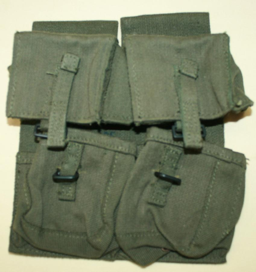 A PAIR OF ARMERLIGHT MAGAZINE AMMO POUCHES