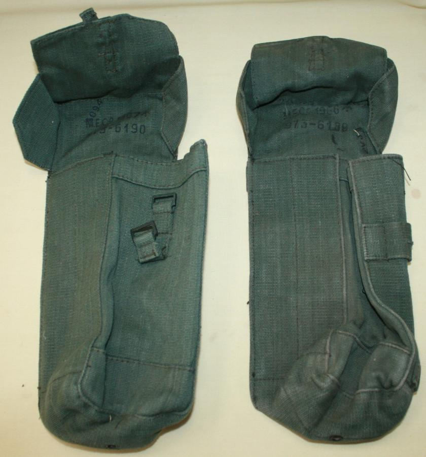 A PAIR OF THE MID 50'S 2nd PATTERN 44 PATTERN AMMO POUCHES