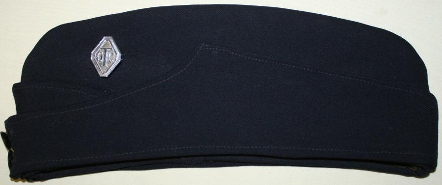 A WWII PERIOD GIRLS TRAINING CORPS SIDE CAP