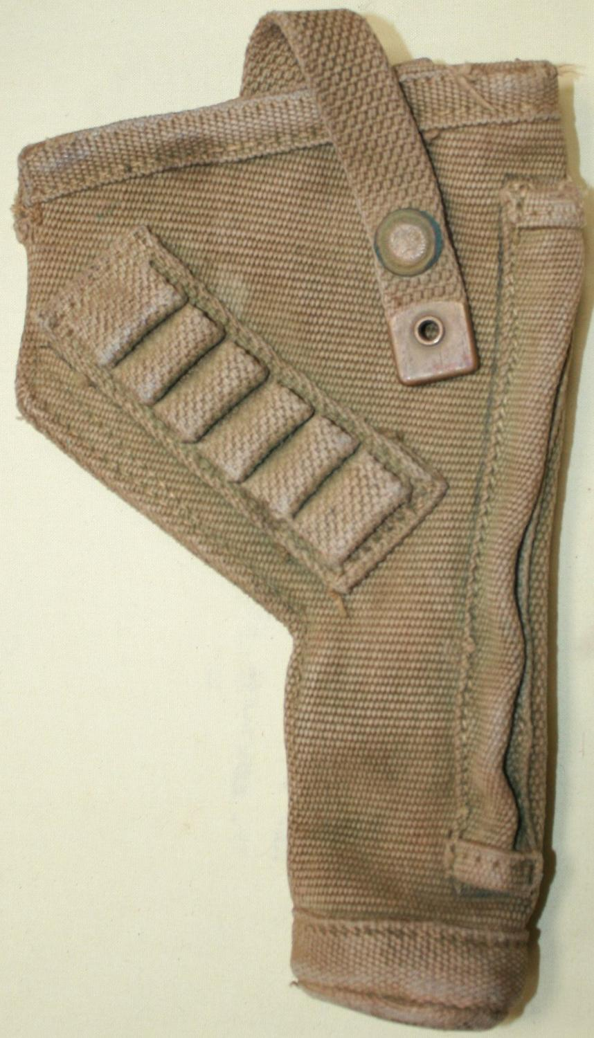 A WWII TANK CREW PISTOL HOLSTER