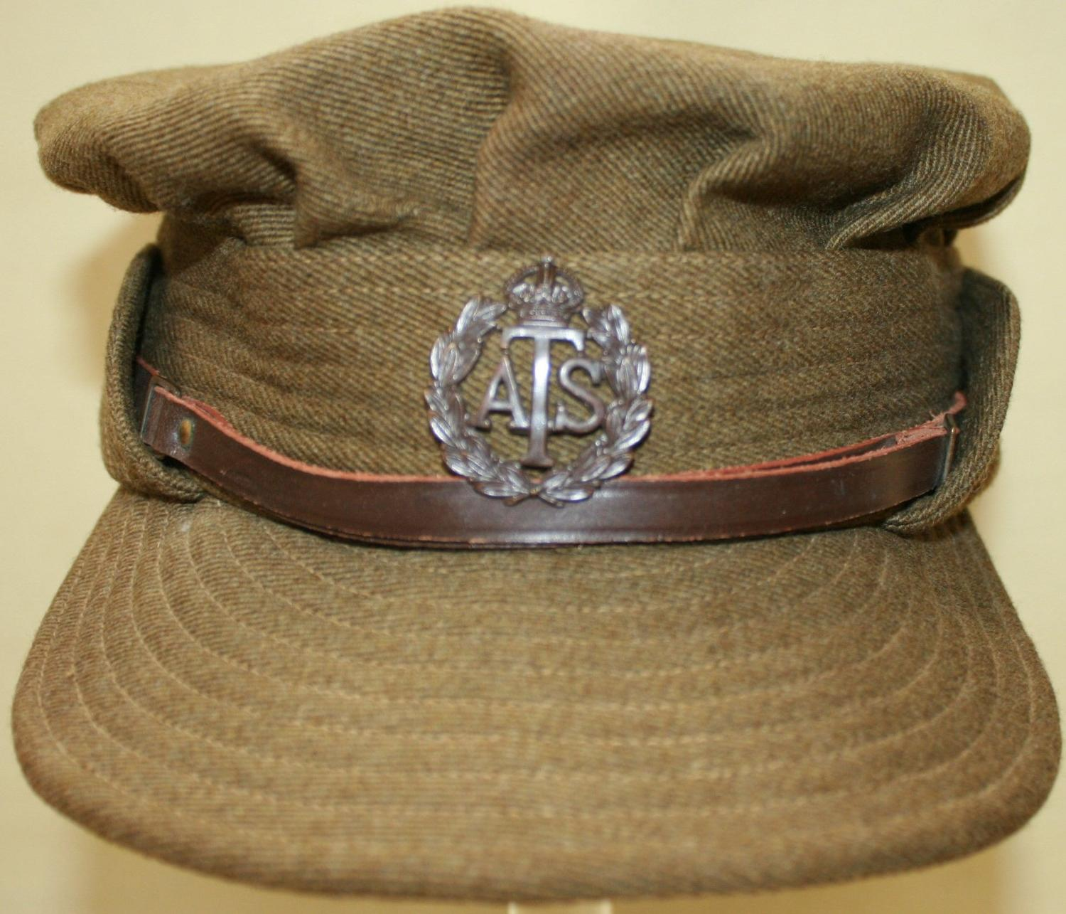 A WWII PERIOD ATS OFFICERS CAP