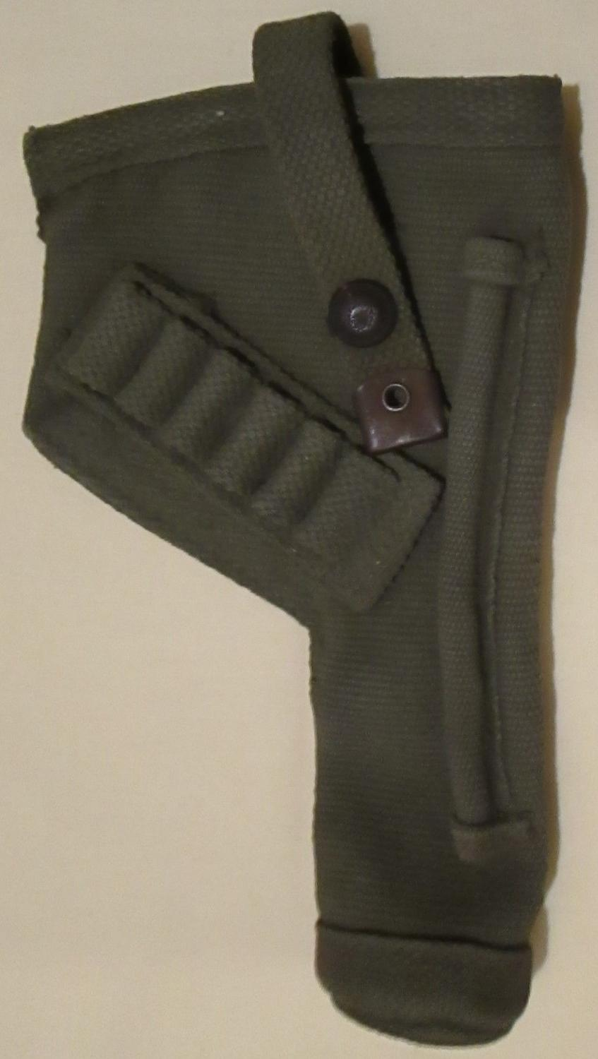 A BLANCOED WWII TANKS HOLSTER ( ATTRIBUTED )