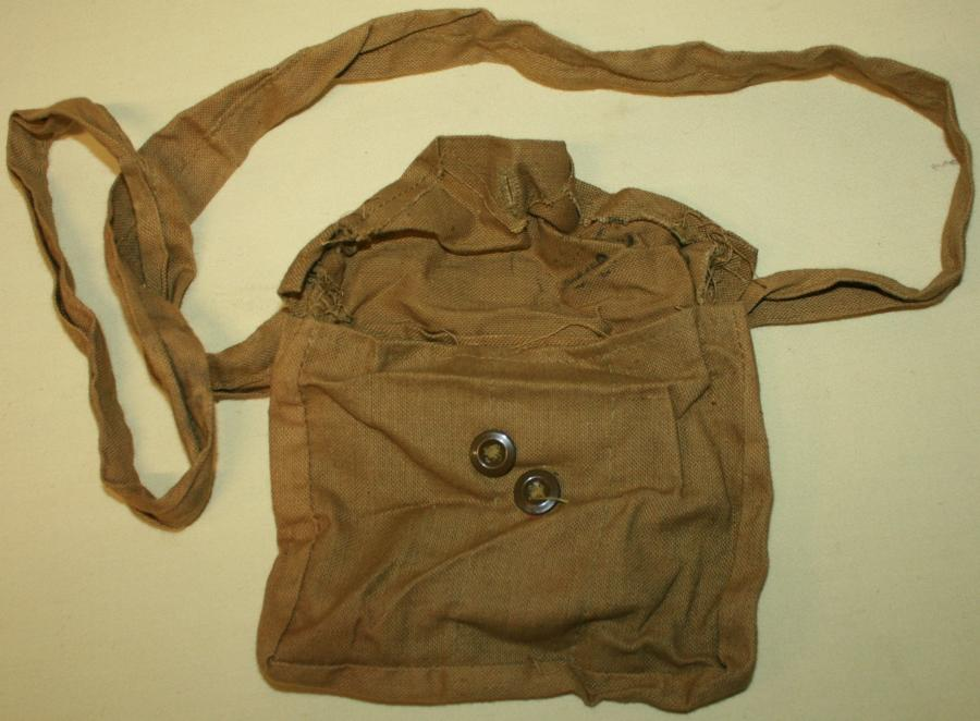 A WWII CANADIAN BOYS ANTI TANK RIFLE MAG BAG