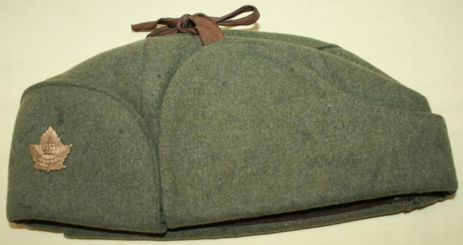 A 1942 DATED CANADIAN COLD WEATHER CAP
