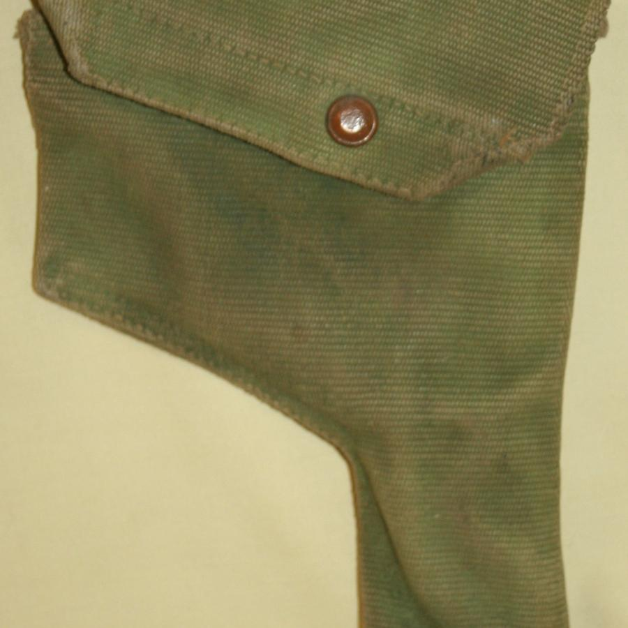 A 08 WEBBING 1939 DATED HOLSTER