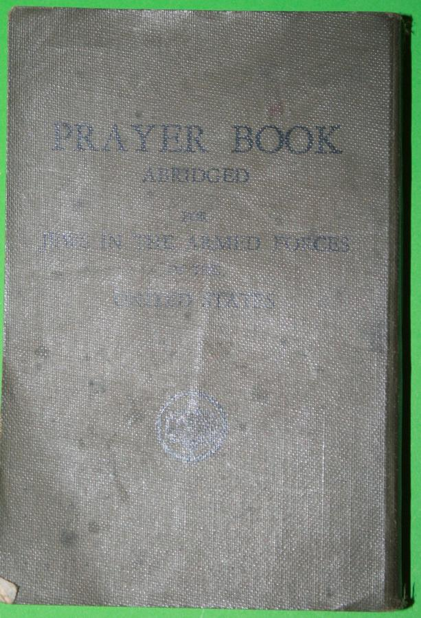 A WWII US ARMY JEWISH PRAYER BOOK 1943 DATED