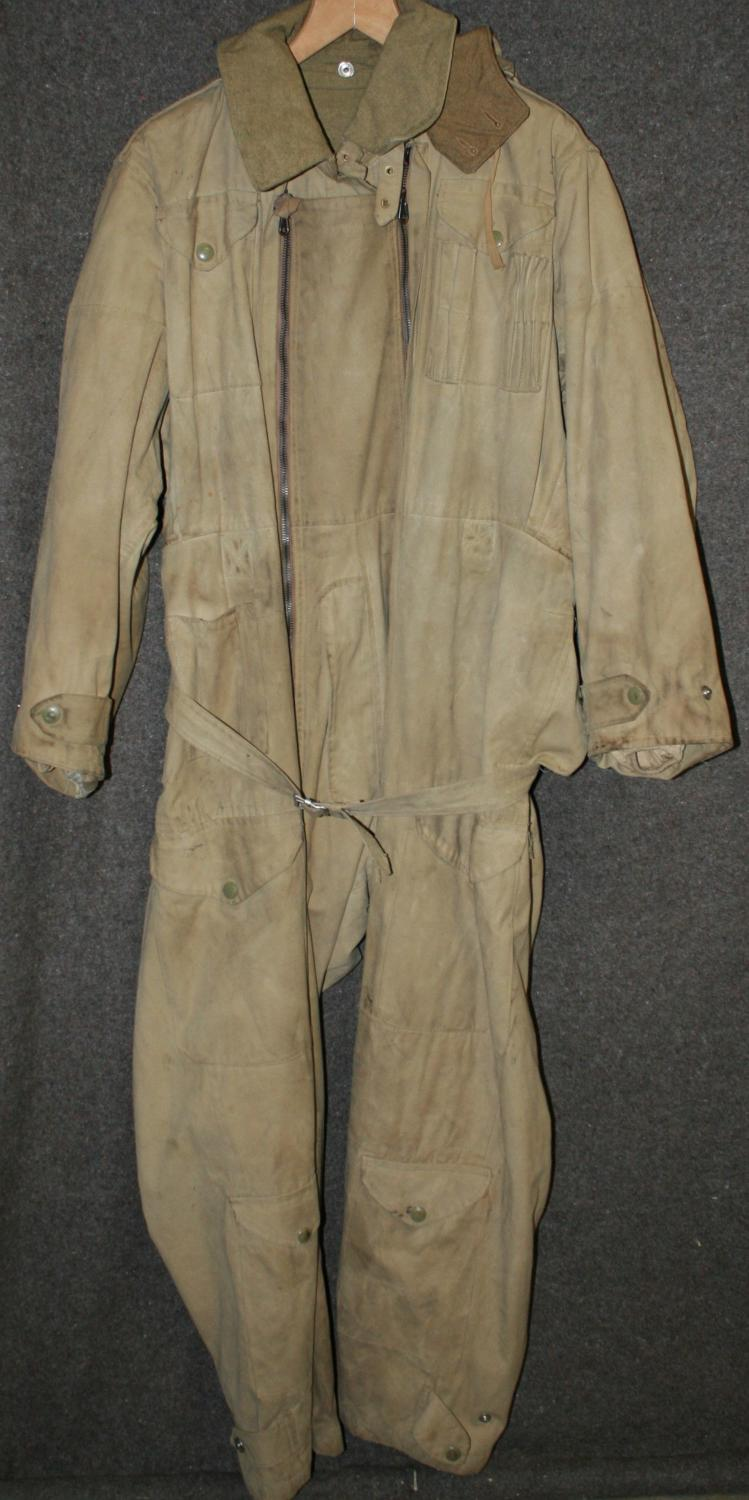A POST WWII SIZE 4 PIXY SUITE ( TANK SUITE )