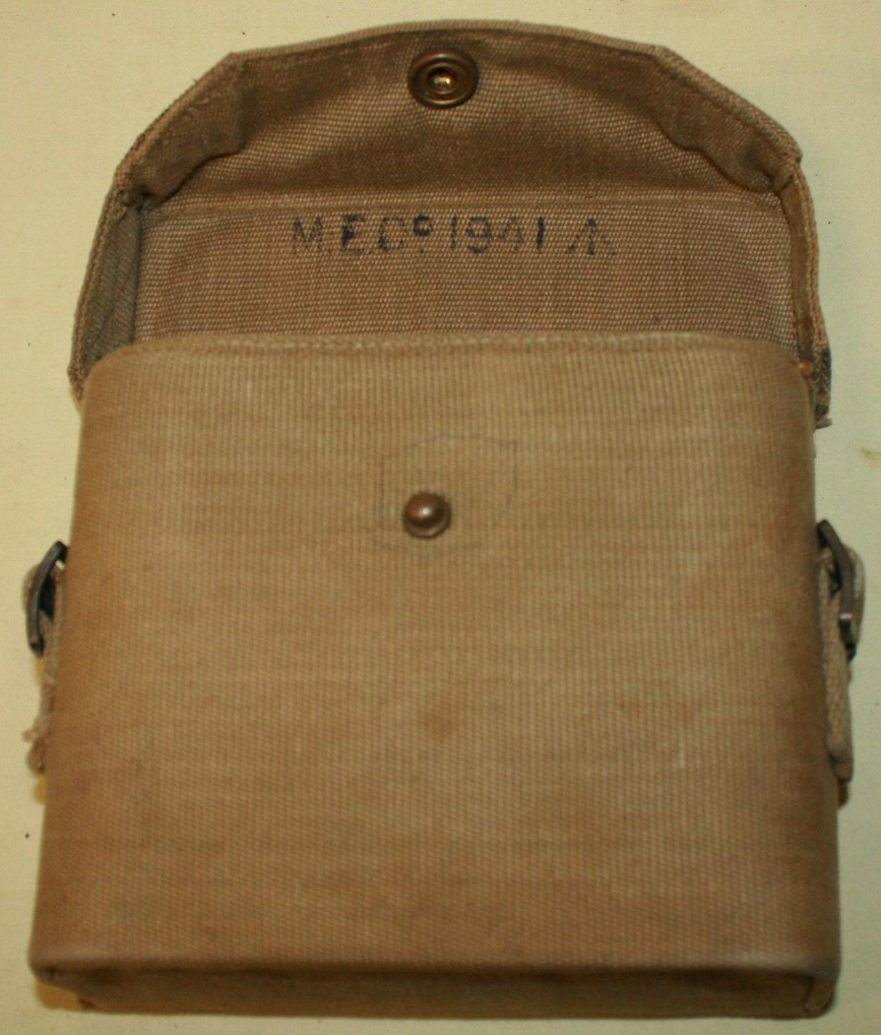 A 1941 DATED BINOCULAR CASE
