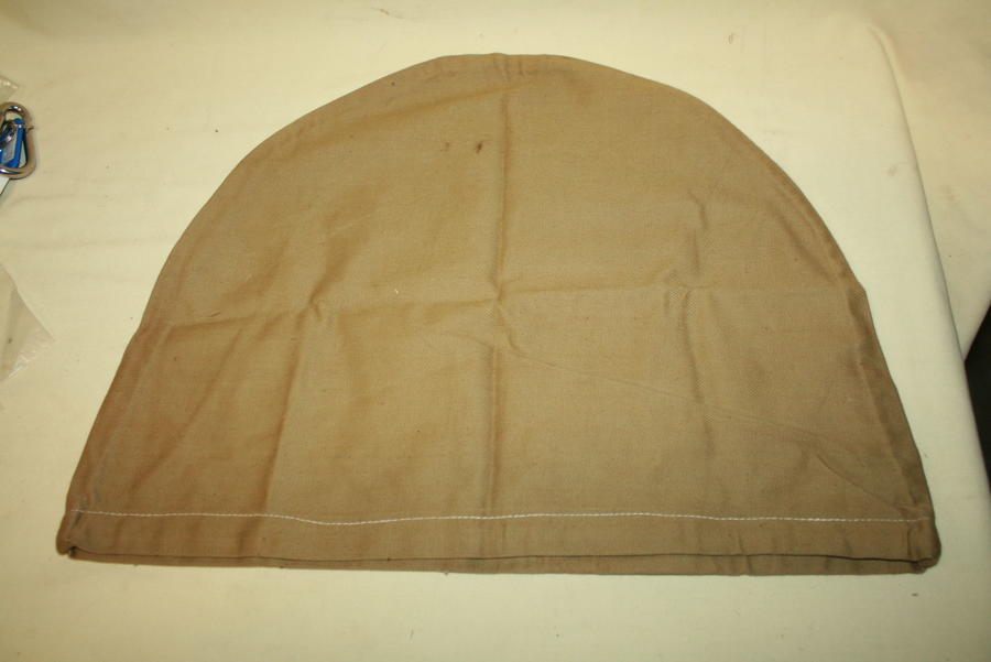 A WWII SOLAR HELMET COVER