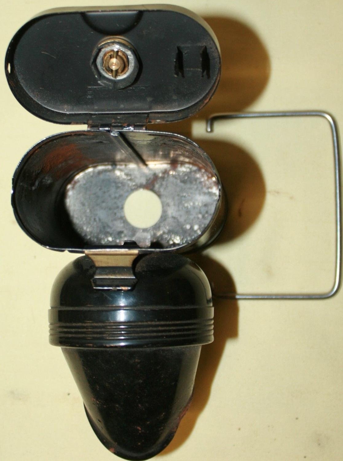 A WWII PERIOD ARP BIKE LAMP