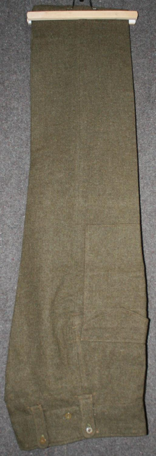 A PAIR OF CANADIAN BATTLE DRESS TROUSERS