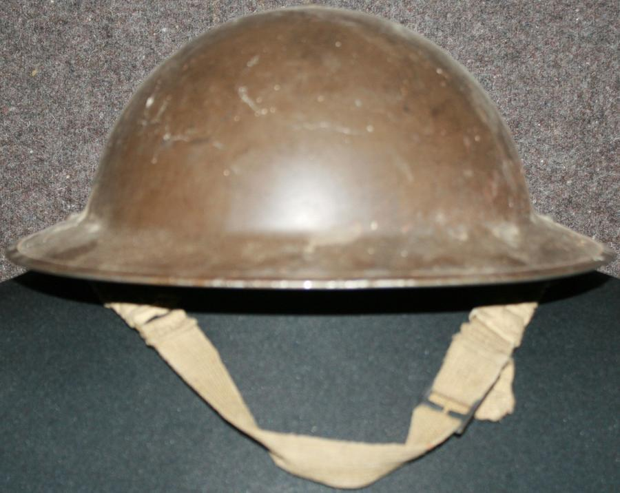A 1939 DATED BMB MADE TOMMY HELMET ( HS MKII )
