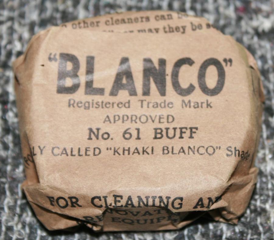 A GOOD EARLY WWII BLANCO BLOCK NO 61 BUFF