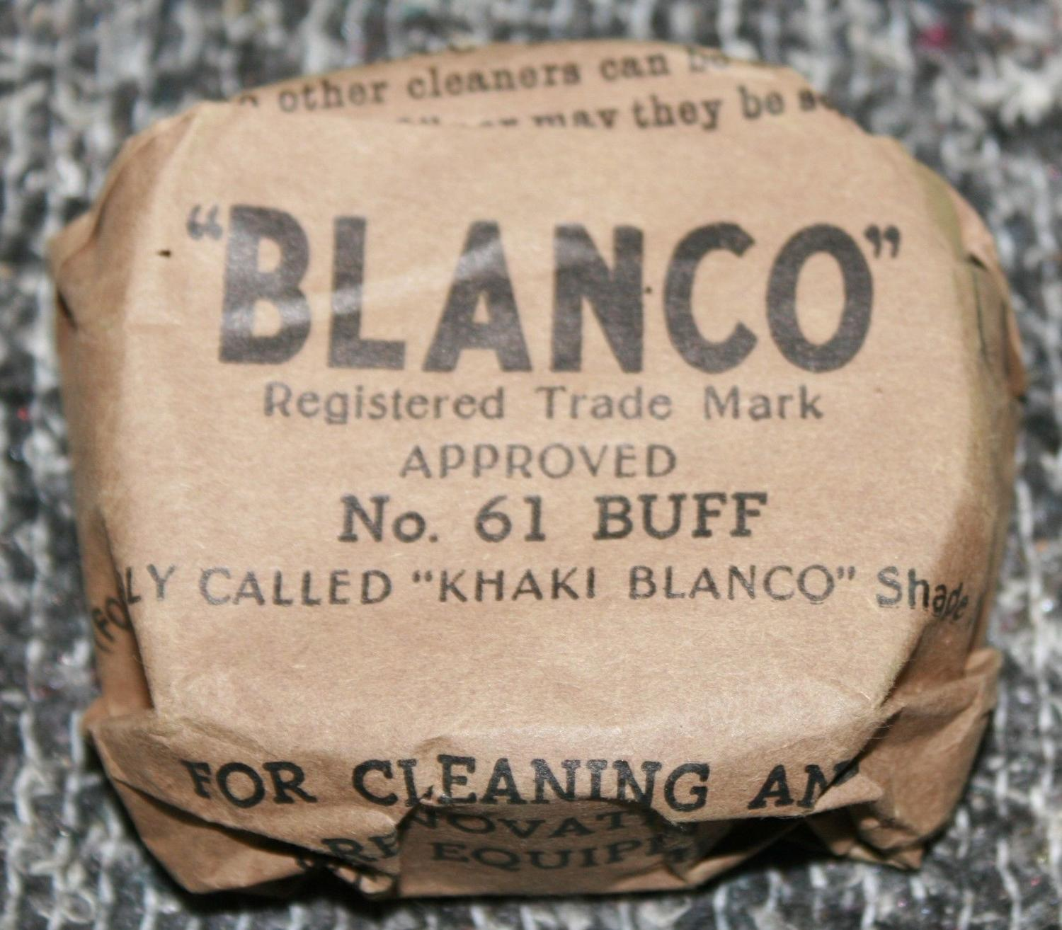 A GOOD EARLY WWII BLANCO BLOCK NO 61 BUFF
