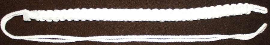 A WWII PERIOD ROYAL ARTILLERY LANYARD