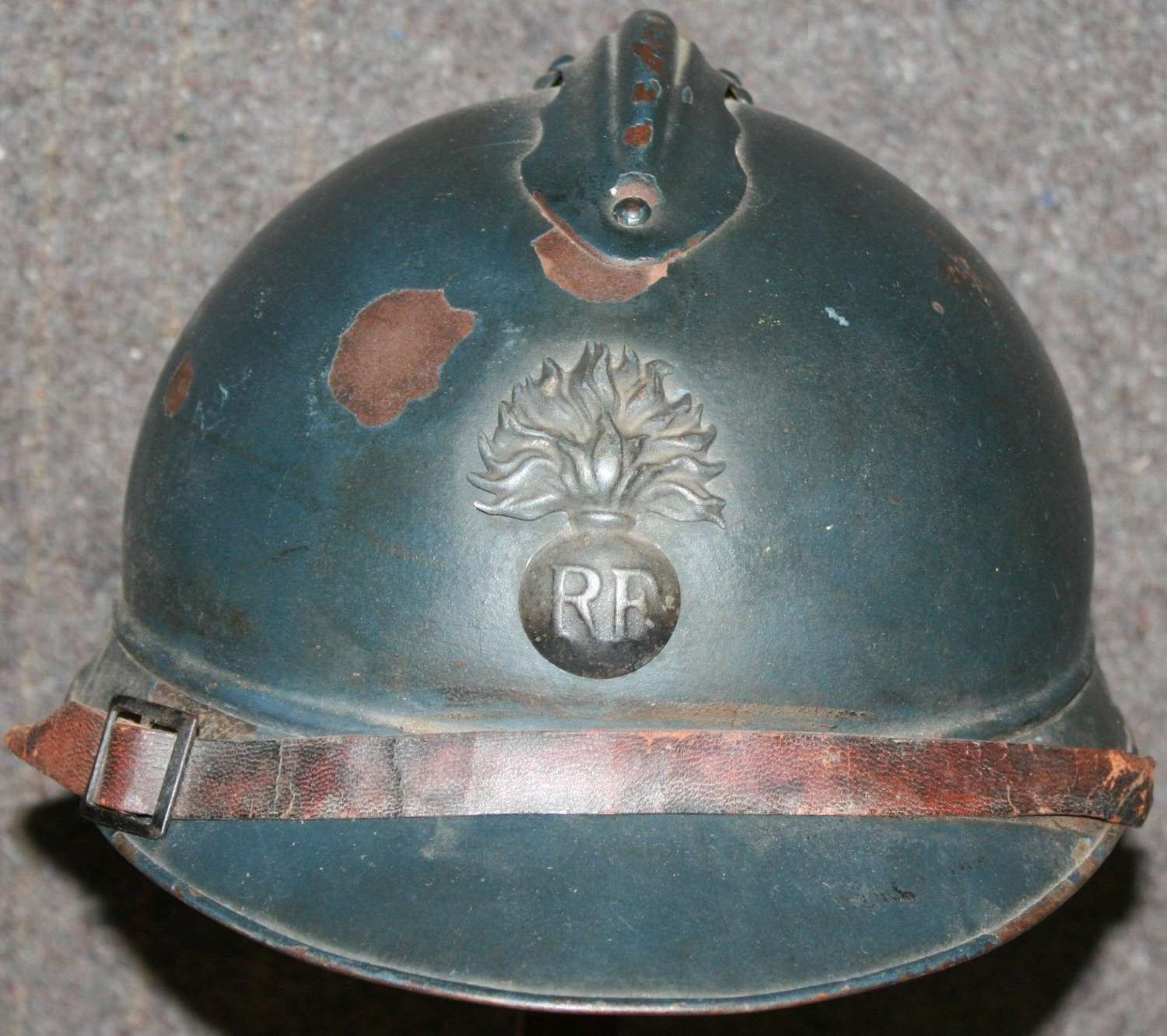 A WWI FRENCH ADRIAN HELMET