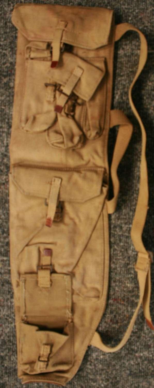 A 1944 DATED CANADIAN BREN GUN BARREL SPARE PARTS CASE