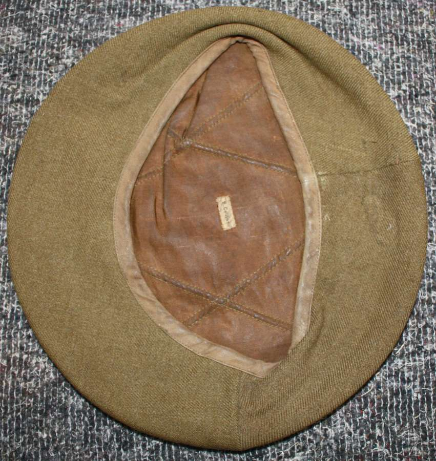 A PRIVATE PURCHASE WWII OFFICERS STYLE BERET