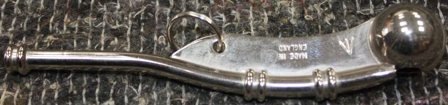 A GOVERNMENT /l\ MARKED  MARKED BOSUNS WHISTLE