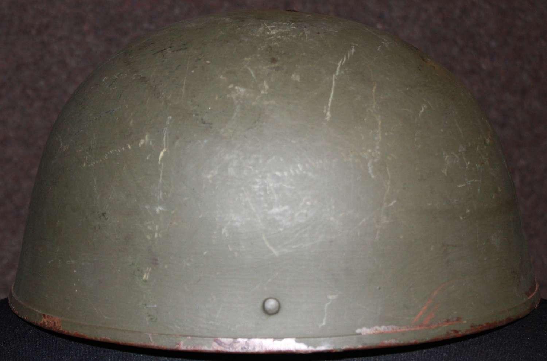 A HELMET STEEL TANK / RAC CREWS MKII 1954 DATED