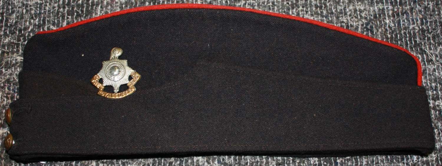 A WWII ROYAL SUSSEX REGT OTHER RANKS SIDE CAP
